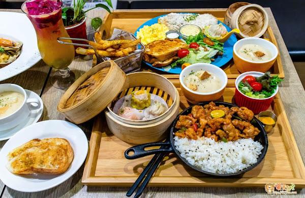用舌尖環遊世界 百吃不膩的中西合併早午餐博朗西咖啡