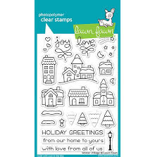 Lawn Fawn Clear Stamps 4X6 - Winter Village