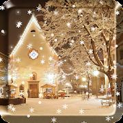 2018 Christmas snow night live wallpaper