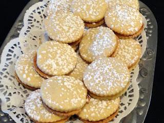 Dulce De Leche (caramel) Filled Shortbread Cookies Recipe