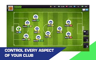 Top Eleven 2019 - Be a Soccer Manager screenshot for Android