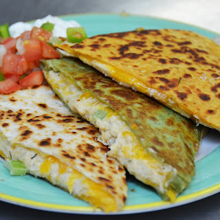 How to Make Cheesy Crab and Shrimp Quesadillas