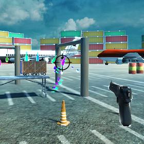 3d Bottle Shooting Gun Game