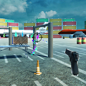3d Bottle Shooting Gun Game