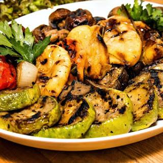 Grilled Cilantro Vegetables in Foil Recipe