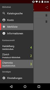 Web Opac: 800+ Bibliotheken – Miniaturansicht des Screenshots
