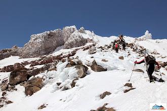 Photo: On the side ridge of volcano Koryaksky