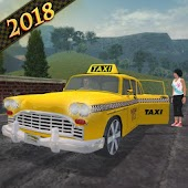 3D Taxi Driver - Hill Station