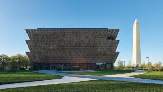 imagen del exterior del Museo de Historia Afroamericana