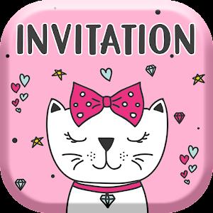 Kitty invitation card maker free 10 latest apk download for android kitty invitation card maker free apk download for android stopboris Image collections