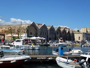 Photo: Ancient warehouse-market building by Venician