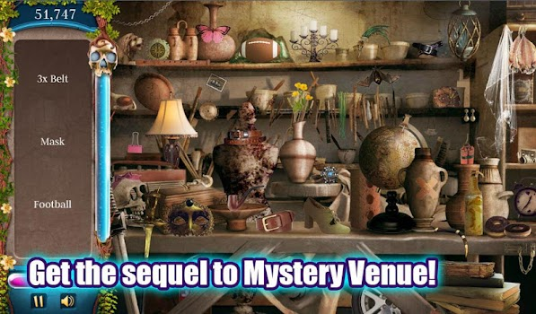 Hidden Object: Mystery Venue 2