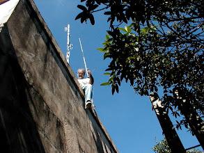 Photo: É possivel notar o estado das paredes e que o local merecia e precisava de cuidados...