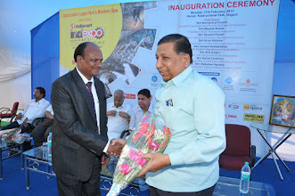 Photo: Mr. R.K. Agrawal Welcome Spacial Guest Shree. Kamal Chokhani