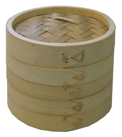 Bamboo Steamer 3 delar Dayat