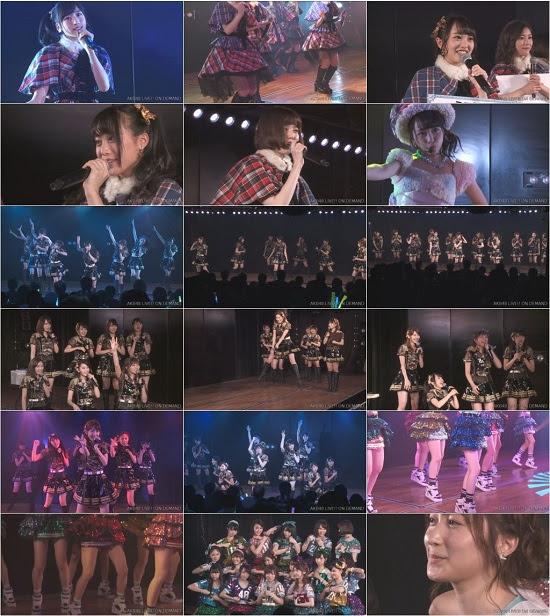 (LIVE)(公演) AKB48ステージファイター特別劇場公演 720p 161203