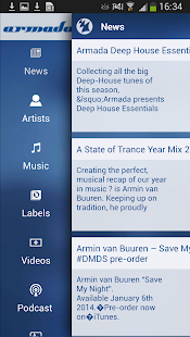 Armada Music- screenshot thumbnail