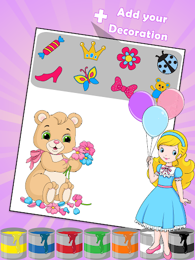 Princess Coloring Book u2764 apkdebit screenshots 6