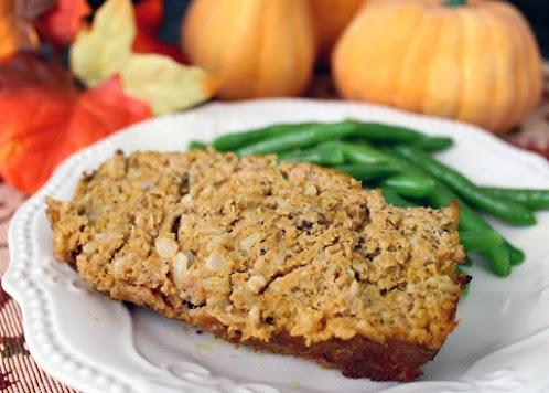 Turkey-Pumpkin Meatloaf
