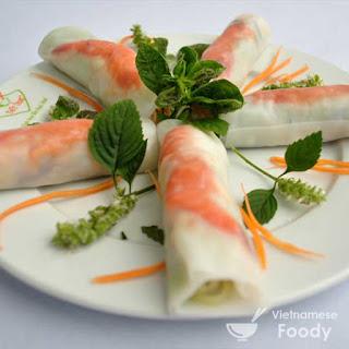 Hue Spring Rolls (Cuon Hue)