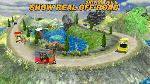 Offroad Tuk Tuk Rickshaw Driving: Tuk Tuk Games 20 apktram screenshots 15
