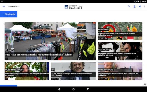 az Grenchner Tagblatt News screenshot 5