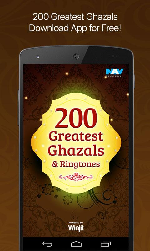 200 best ghazals list ever android apps on google play for Iqbal bano ghazals