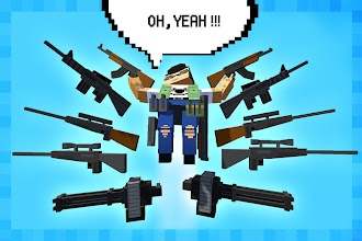 Pixel Shooter - the block sniper battle screenshot thumbnail