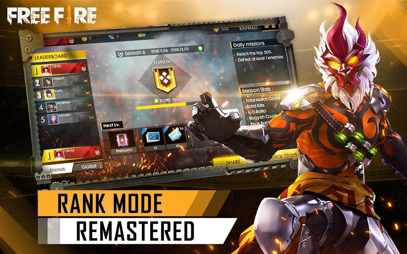 Garena Free Fire Screenshot 2