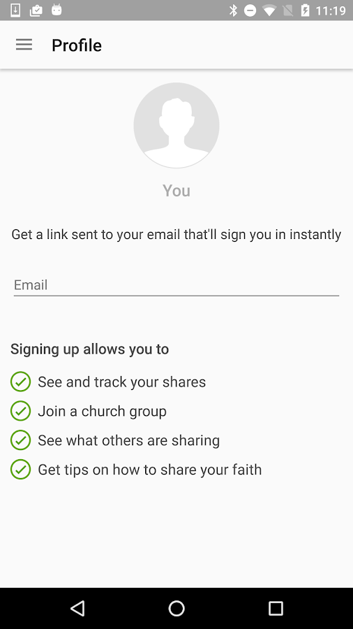 yesHEis: Share Jesus- screenshot