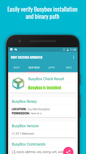Root/Su Checker Free [Root] 2.2.8 screenshots 4