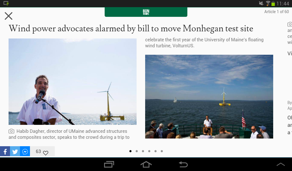 Bangor Daily News- screenshot