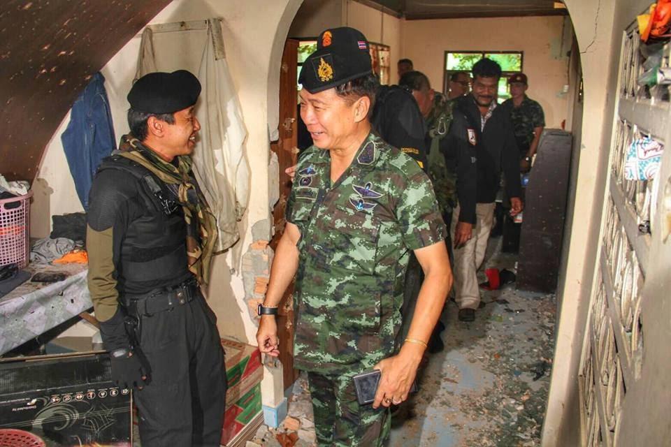 Kondisi Rumah Terkepung Pembunuhan di Patani • Turanisia  News