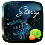 (FREE) GO SMS PRO STARRY THEME 13.1.1 Apk
