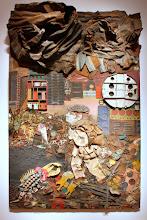 Photo: Antonio Berni Juanito va a la ciudad 1963. 327,7 × 200,7 cm. Madera, pintura, chatarra, troqueles industriales, cartón y tejidos sobre madera. The Museum of Fine Arts, Houston, EE.UU. Expo: Antonio Berni. Juanito y Ramona (MALBA 2014-2015)