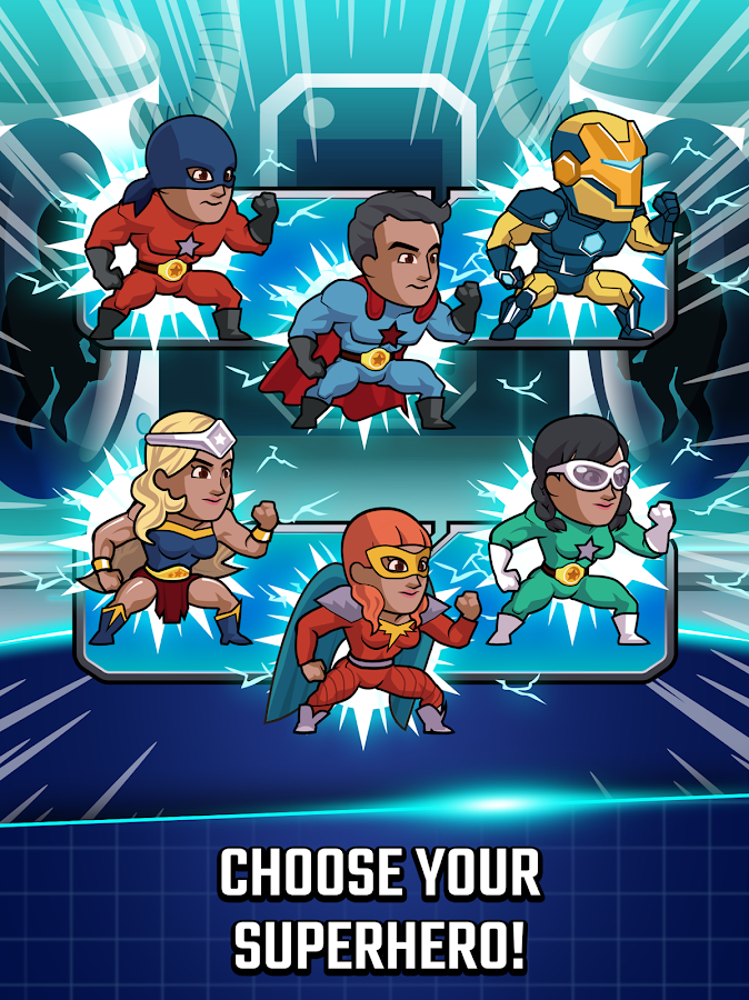 Super League of Heroes - Comic Book Champions- screenshot