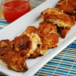 Crispy Coconut Chicken Tenders.