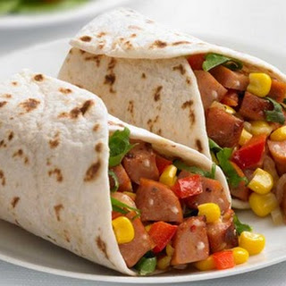 Johnsonville Chipotle Monterey Jack Cheese Chicken Sausage Wraps