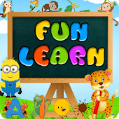 KIDS-Fun Learning. Letters,Numbers,Colours&Shapes