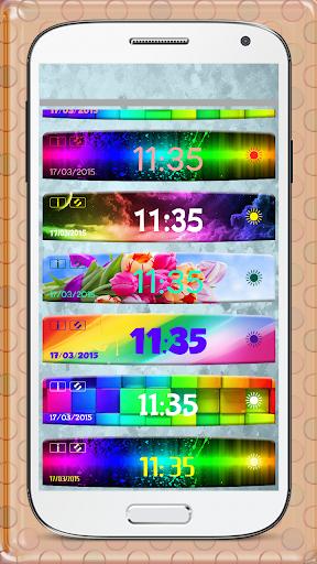 玩免費天氣APP|下載カラフル時計と天気のウィジェット app不用錢|硬是要APP
