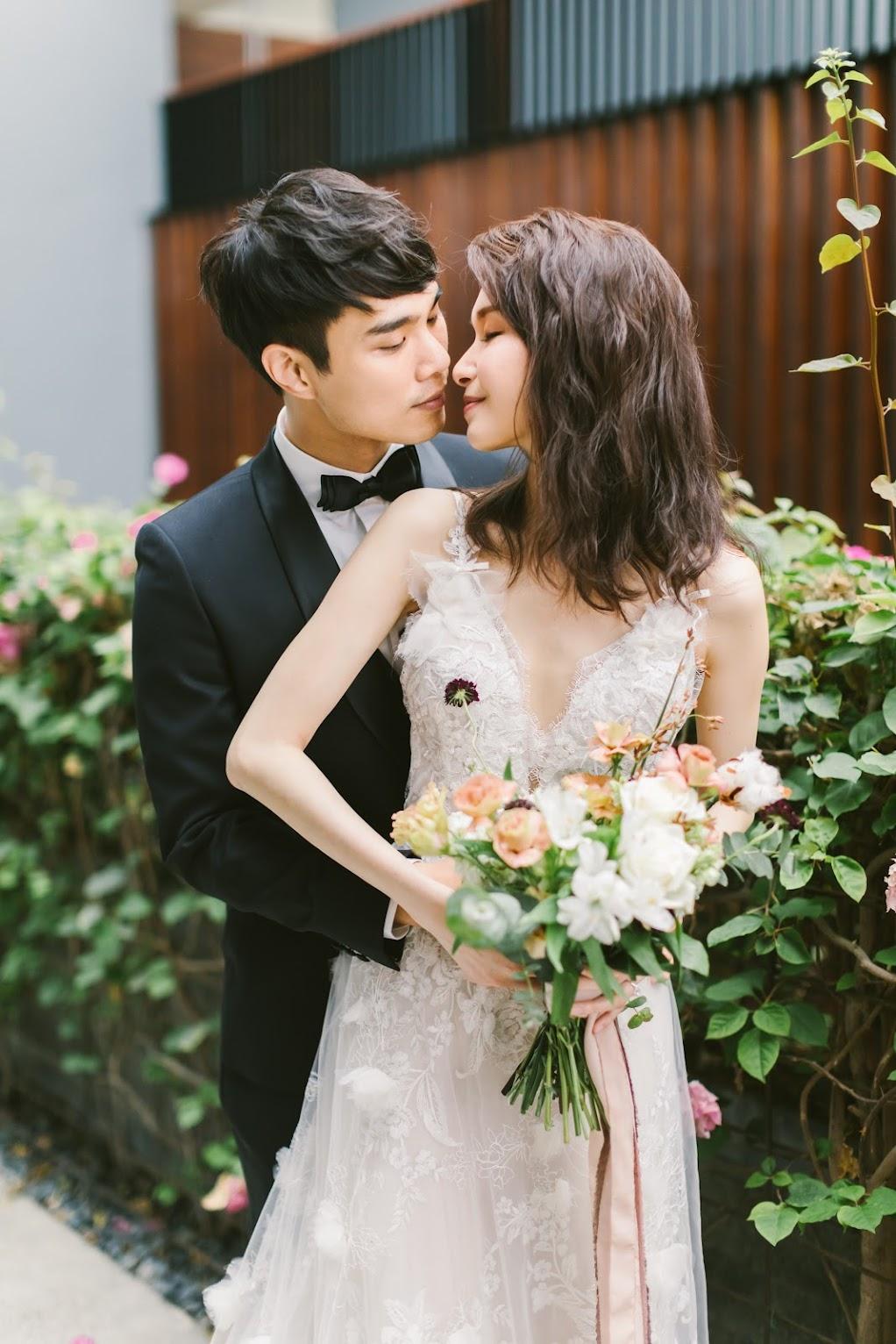 涵碧樓婚禮攝影 - 親吻