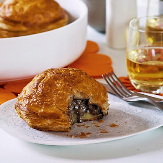 Pithivier Mushroom, Leek and Potato Pies