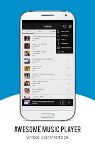"""MusiBeatz - Music player"" Screenshot"