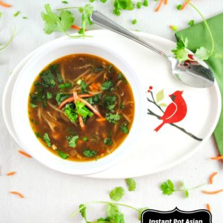 Instant Pot Spicy Asian Chicken Soup