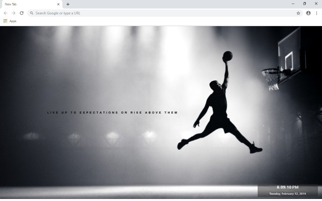 Basketball New Tab & Wallpapers Collection