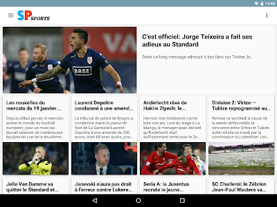 Sudpresse Sports screenshot 3