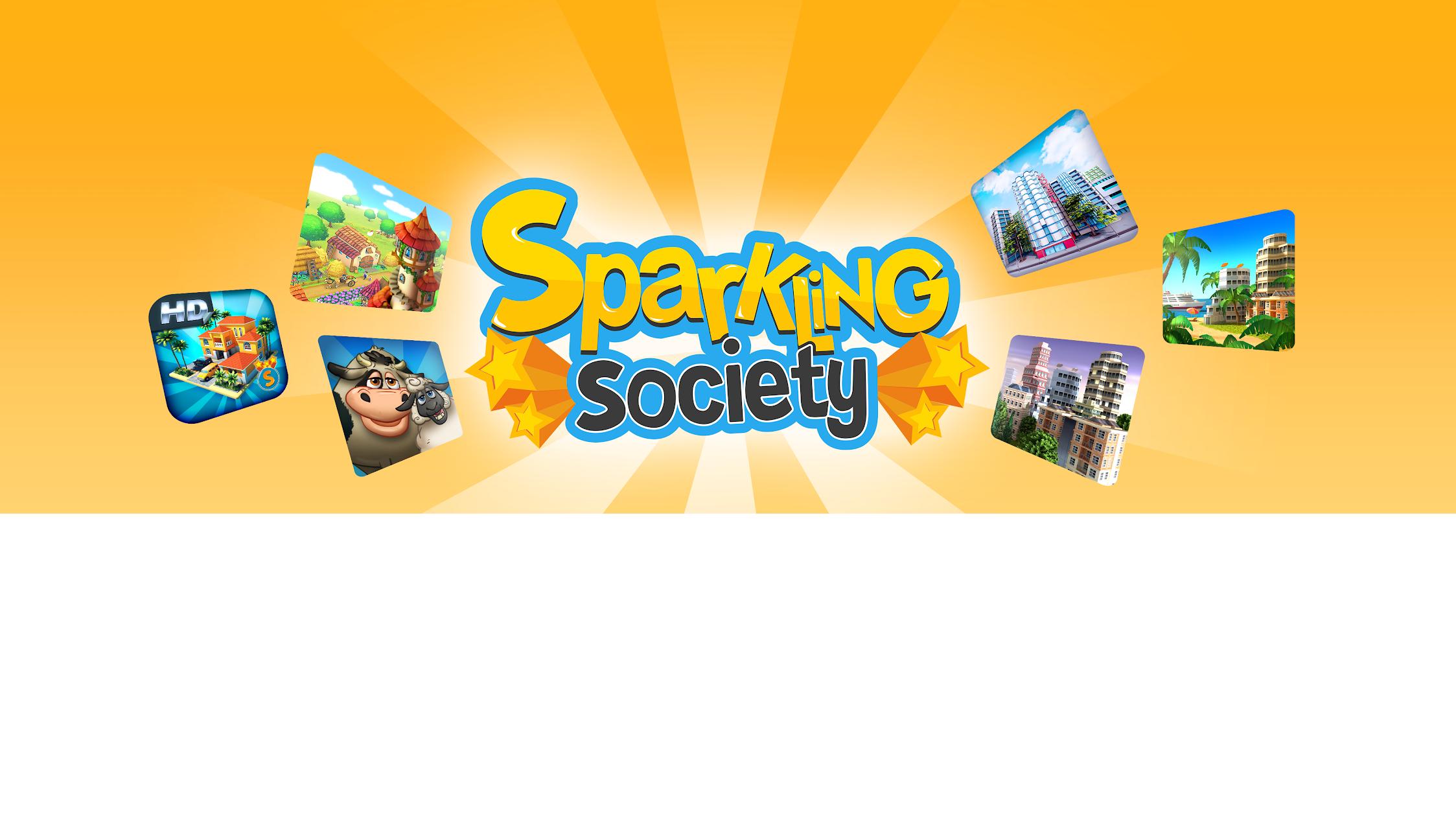 Sparkling Society - Sims Farm Town & CCG/TCG Games