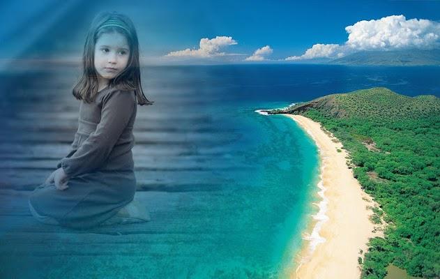 Beach Photo Frames - screenshot
