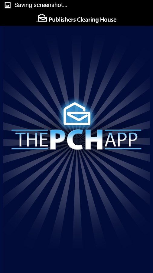 The PCH App- screenshot