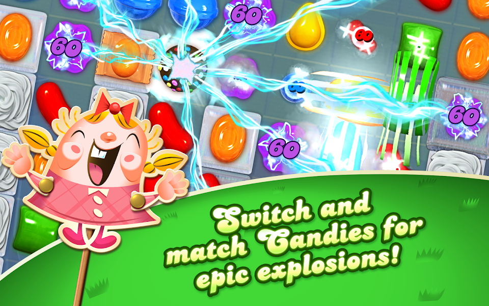 Candy Crush Saga Mod Apk - Screenshot